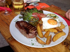 Argentinisches Steak im Gloria Berlin