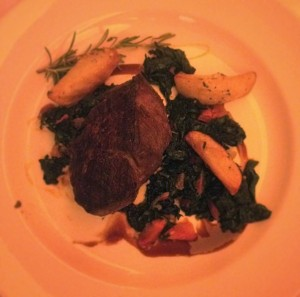 Rinderfilet that could have used a lot more 'oomph'