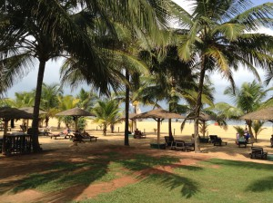 Strand beim Hotel Goldi Sands in Negombo Sri Lanka