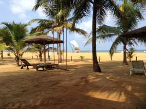 Hotelstrand Goldi Sands Negombo Sri Lanka
